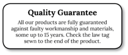 Mattress Resources Quality Guarantee