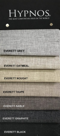 Mattress Resources Hypnos Colour Swatches