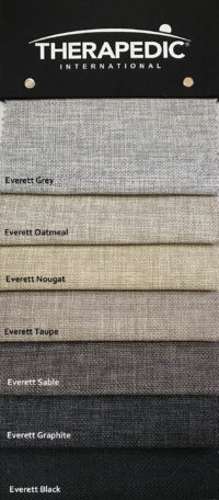 Mattress Resources Therapedic Colour Swatches